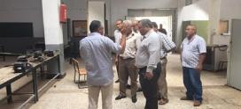 زيارة تفقدية لمعاهد بمدينة بنغازي