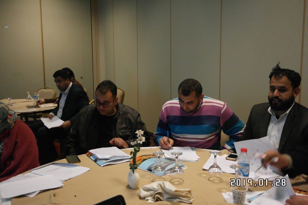 الدورة التدريبية الأولى للفريق الليبي للمؤشرات والعلوم والتكنولوجيا والابتكار