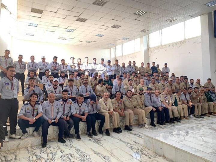 كلية التقنية الكهربائية والالكترونية تستضيف مفوضية كشاف بنغازي